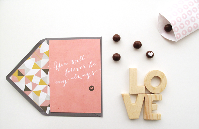 Happy Valentine Mino Paper Sweets