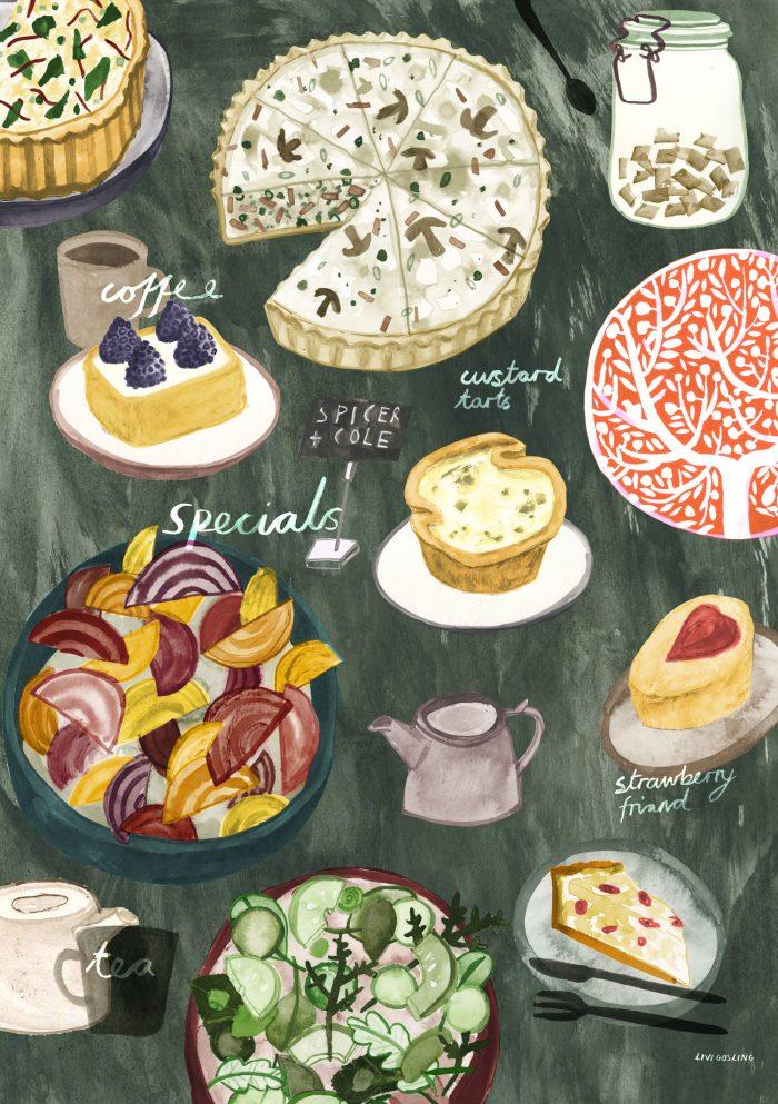 Livi Gosling illustration spicer HappyMakersBlog