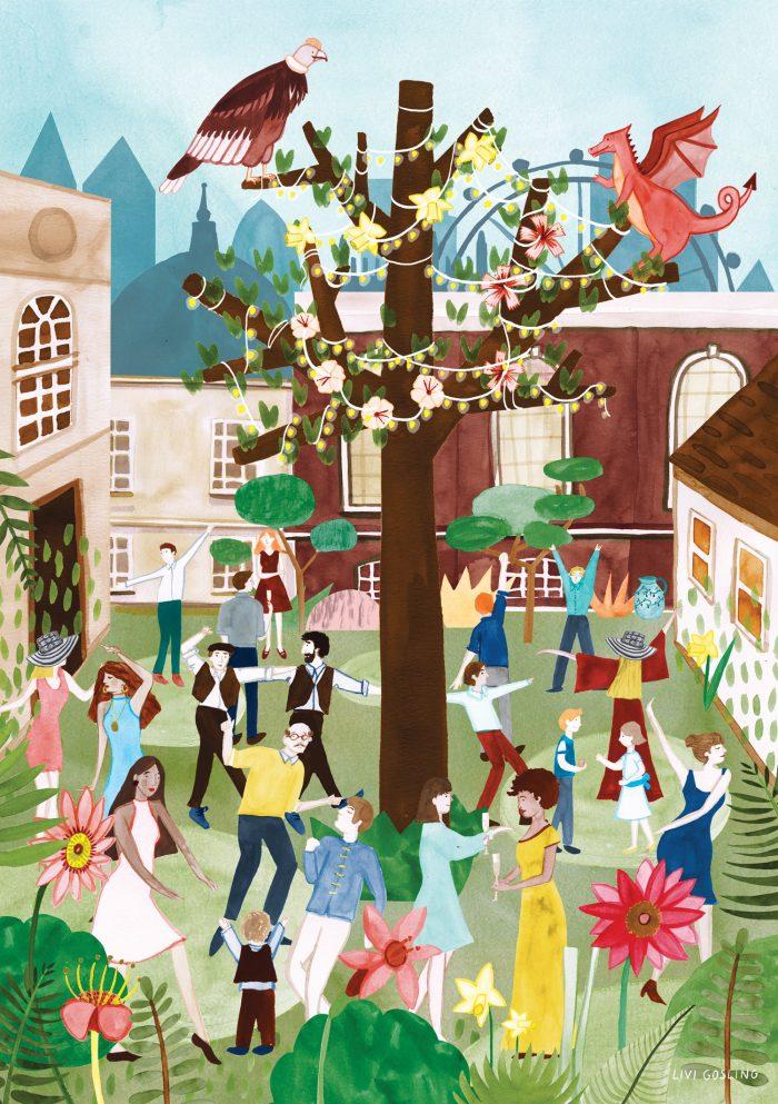 Livi Gosling illustration wedding stationery HappyMakersBlog